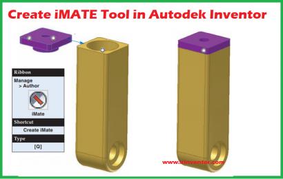 هوشمند سازی مونتاژ با iMATE در نرم افزار اینونتور