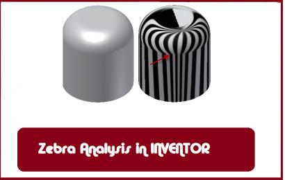 آنالیز پیوستگی انحنای سطوح (Zebra Analysis)