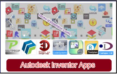ماژول ها و افزونه های جانبی نرم افزار Inventor