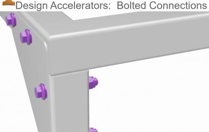 طراحی اتصالات جدا شدنی (پیچ و مهره) در نرم افزار اینونتور