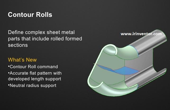 شکل دهی ورق فلزی با فرایند رول فرمینگ و نرم افزار اتودسک اینونتور