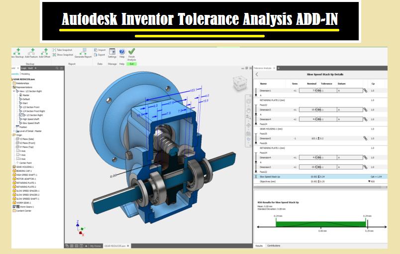 معرفی افزونه تحلیل تلرانسی اینونتور Inventor Tolerance Analysis